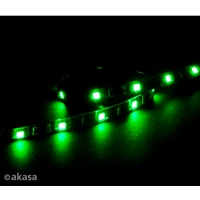 Akasa Vegas M Ak-ld05-50gn Green Magnetic Led Strip Light Ak-ld05-50gn - Tgt01