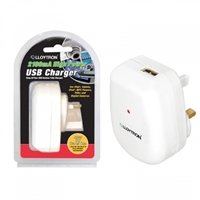 Lloytron 2100ma Usb Wall Charger White A1583wh - Tgt01