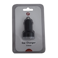 Vcom Dual Usb In-car Charger 2100ma Ca851a - Tgt01