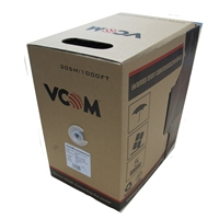 Vcom Utp Cat5e Networking Cable 305m Grey Reel Box Nc514 - Tgt01