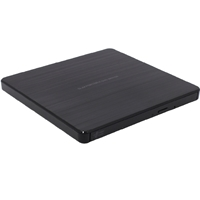 Hitachi-lg Gp60ns60 8x Dvd-rw Usb 2.0 Black Slim External Optical Drive Gp60nb60 - Tgt01