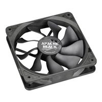 Akasa Apache Black Ak-fn058 120mm 1300rpm Black Super Silent Case Fan Ak-fn058 - Tgt01