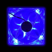 Evo Labs 120mm 2300rpm Blue Led Case Fan Fn-120bl - Tgt01