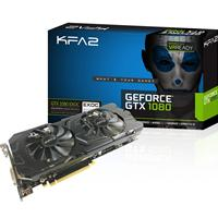 Kfa2 Geforce Gtx1080 Ex Oc 8gb Gddr5x Vr Ready Active Cooling System Graphics Card 80nsj6dhl4ek - Tgt01