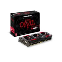 Powercolor Radeon Rx 480 Red Devil 8gb Gddr5 Double Blade Iii Technology Tri-fan Cooler Graphics Card Axrx 480 8gbd5-3dhd/oc - Tgt01