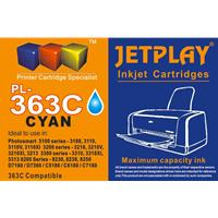 Jetplay 363 Hp Compatible Cyan Replacement Ink Pl-363 Cyan - Tgt01