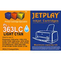 Jetplay 363 Hp Compatible Light Cyanreplacement Ink Pl-363 Light Cyan - Tgt01