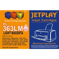 Jetplay 363 HP Compatible Light Magenta Replacement Ink;