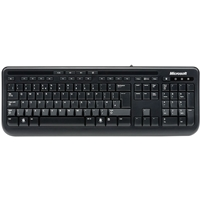 Microsoft Wired Keyboard 600 Black Usb Anb-00006 - Tgt01