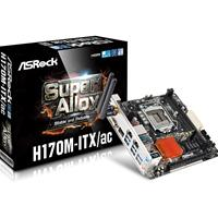 Asrock H170m-itx/ac 6th Gen Core I7/i5/i3/pentium/celeron Socket 1151 Intel H170 Raid Wlan Mini-itx Motherboard H170m-itx/ac - Tgt01
