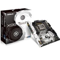 Asrock X99 Taichi Intel Socket 2011-v3 Atx Ddr4 M.2 Usb 3.0/3.1 Motherboard X99 Taichi - Tgt01