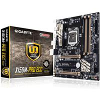 Gigabyte Ga-x150m-pro Ecc Intel Socket 1151 Micro Atx Ddr4 M.2 Usb 3.0 Motherboard Ga-x150m-pro Ecc - Tgt01