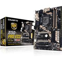 Gigabyte Ga-x150-pro Ecc Intel Socket 1151 Atx Ddr4 M.2 Usb 3.0/3.1 Motherboard Ga-x150-pro Ecc - Tgt01
