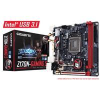 Gigabyte Ga-z170n-gaming 5 Intel Socket 1151 Mini-itx Ddr4 Dvi-d/hdmi M.2 Usb 3.0/3.1 Motherboard Ga-z170n-gaming 5 - Tgt01