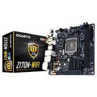 Gigabyte Ga-z170n-wifi Intel Socket 1151 Mini-itx Ddr4 Dvi-d/hdmi M.2 Usb 3.0 Motherboard Ga-z170n-wifi - Tgt01