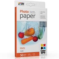 Colorway Matte 6x4 190gms Photo Paper 50 Sheets Pm1900504r - Tgt01
