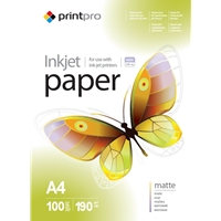 Colorway Print Pro Matte A4 190gsm Photo Paper 100 Sheets Pme190100a4 - Tgt01