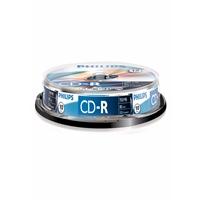 Philips Cd-r Recordable 52x 10pk Spindle Phoc801052sp - Tgt01