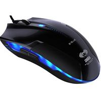 E-blue Ems108 Cobra Advanced Black Usb Wired Gaming Full Size Optical Mouse Ems108bk - Tgt01