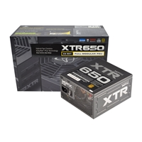 Xfx Xtr Series 650w Atx 13.5cm Fluid Dynamic Fan Modular 80 Plus Gold Psu P1-650b-befx - Tgt01