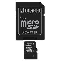 Kingston 32gb Micro Sdhc Class 10 Flash Card With Adapter Sdc10/32gb - Tgt01