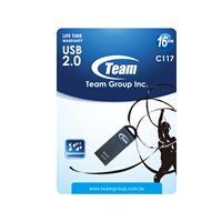 Team C117 16gb Usb 2.0 Flash Drive Iron Finish Tc11716gc01 - Tgt01