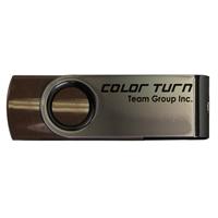 Team Turn 8GB USB 2.0 Brown USB Flash Drive;
