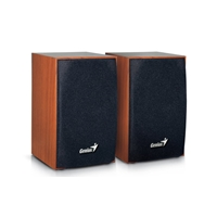 Genius Sp-hf160 4 Watt Usb 2.0 Wooden Speakers 31731063101 - Tgt01