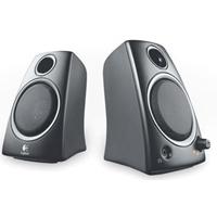 Logitech Z 130 Multimedia 2.0 Speakers - 5w Rms 980-000419 - Tgt01