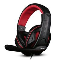 Hipoint X2-red Extreme Gaming Headset With Mic & In-line Volume Control For Ps4 Mobiles Laptops And Pcs X2-red - Tgt01