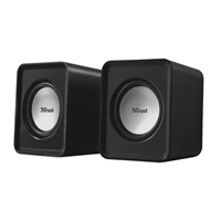 Trust 19830 Leto 6w Usb 2.0 Powered Black Speakers 19830 - Tgt01