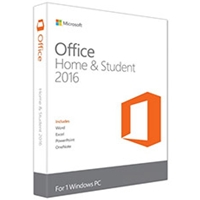 Microsoft Office 2016 Home & Student 32/ 64-bit English Medialess Pkc Software 79g-04597 - Tgt01