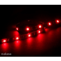 Akasa Vegas M 0.5m Magnetic Red Led Light Strip Ak-ld05-50rd - Tgt01
