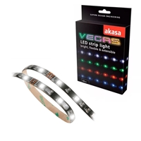 "Akasa ""Vegas"" AK-LD02-05WH LED Strip Light 60cm White"