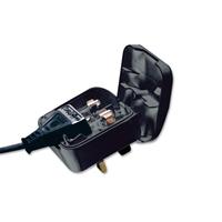 EU to UK 3A Converter Plug Black