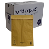 Featherpost Size F/3 Bubble Lined Mailers 250mm X 345mm Box Of 100 F3x 250mm X 345mm - Tgt01