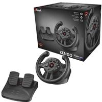 Trust 21684 Gxt 570 Compact Vibration Racing Wheel 21684 - Tgt01