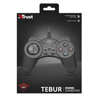Trust 21834 Gxt 510 Tebur Gamepad For Pc And Laptop 21834 - Tgt01