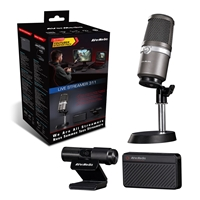 Avermedia Bo311 Live Streamer 311 Full Streaming Starter Kit (webcam, Mic And Capture Device) Bo311 - Tgt01