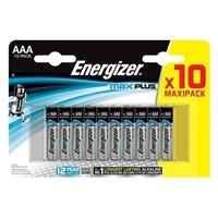 Energizer Maxplus Pack Of 10 Aaa Batteries Enerlr03b10maxplus - Tgt01