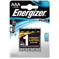 Energizer Maxplus Pack Of 4 Aaa Batteries Enerlr03b4maxplus - Tgt01