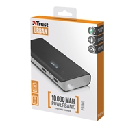 Trust 21149 Primo 10000mAh Black Power Bank