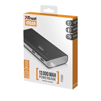 Trust 21689 Primo 13000mAh Black Power Bank