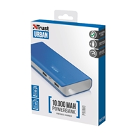 Trust 22072 Primo 10000mAh Blue Power Bank