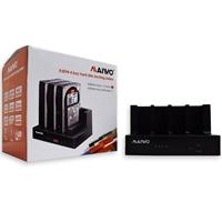 Maiwo Quad-bay Usb 3.0 Hdd Clone Docking Station K3094a - Tgt01