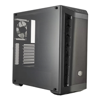 Cooler Master Masterbox Mb511 Mid Tower 2 X Usb 3.0 Side Window Panel Black Case With Black Trim Mcb-b511d-kann-s01 - Tgt01