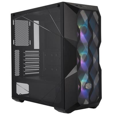 Cooler Master MasterBox TD500 Mesh Mid Tower 2 x USB 3.0 Crystal