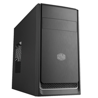 Cooler Master Masterbox E300l Micro Tower 2 X Usb 3.0 Black Case With Silver Trim Mcb-e300l-kn5n-b02 - Tgt01