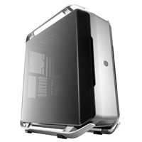 Cooler Master COSMOS C700P Full Tower 1 x USB 3.1 Type-C / 4 x USB 3.0 Dual-Curved Tempered Glass Side Window Gun Metal & Black Case with RGB LED Accents