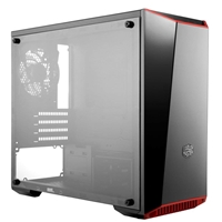 Cooler Master Masterbox Lite 3.1 Micro Tower 1 X Usb 3.0 / 1 X Usb 2.0 Side Window Panel Black Case With Customisable Trim Colours Mcw-l3b3-kann-01 - Tgt01